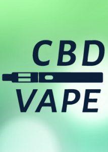 Banner na www.cbd-vape.sk - informačný web o vapovani CBD