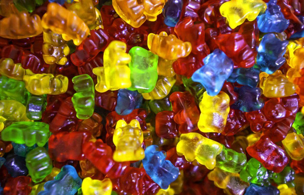 Gumené cukríky s obsahom CBD